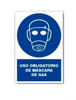 uso-obligatorio-de-mascara-de-gas-sticker-label-etiqueta-adhesivo-cartel-letrero